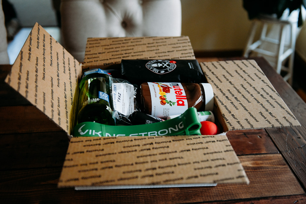 Workout Care Package Care Package Ideas Kathleen