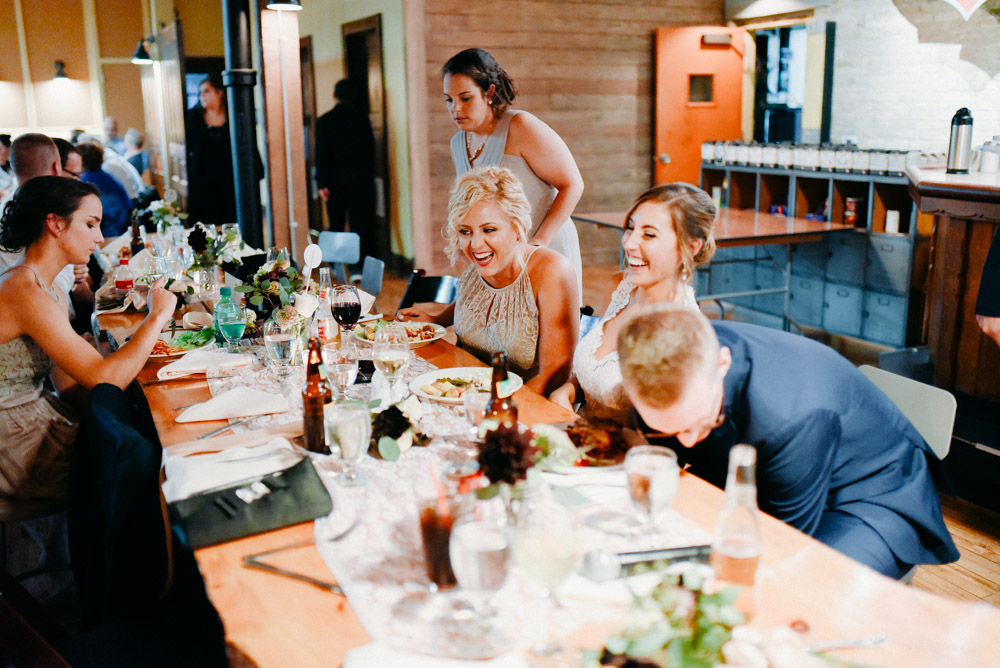 fun anodyne coffee wedding with laughter