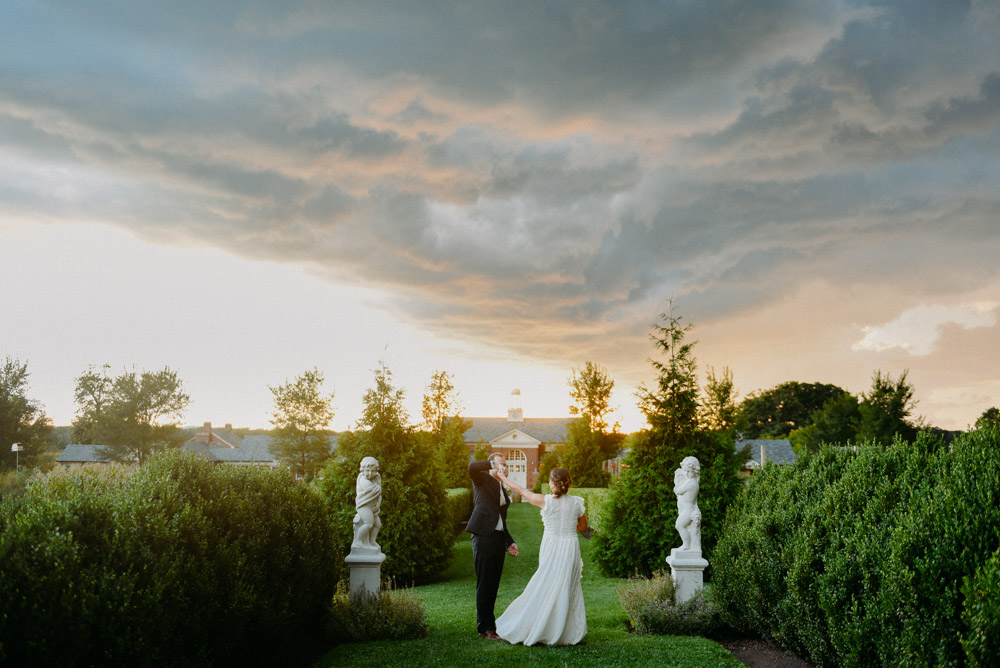 dark sky over elawa farm wedding