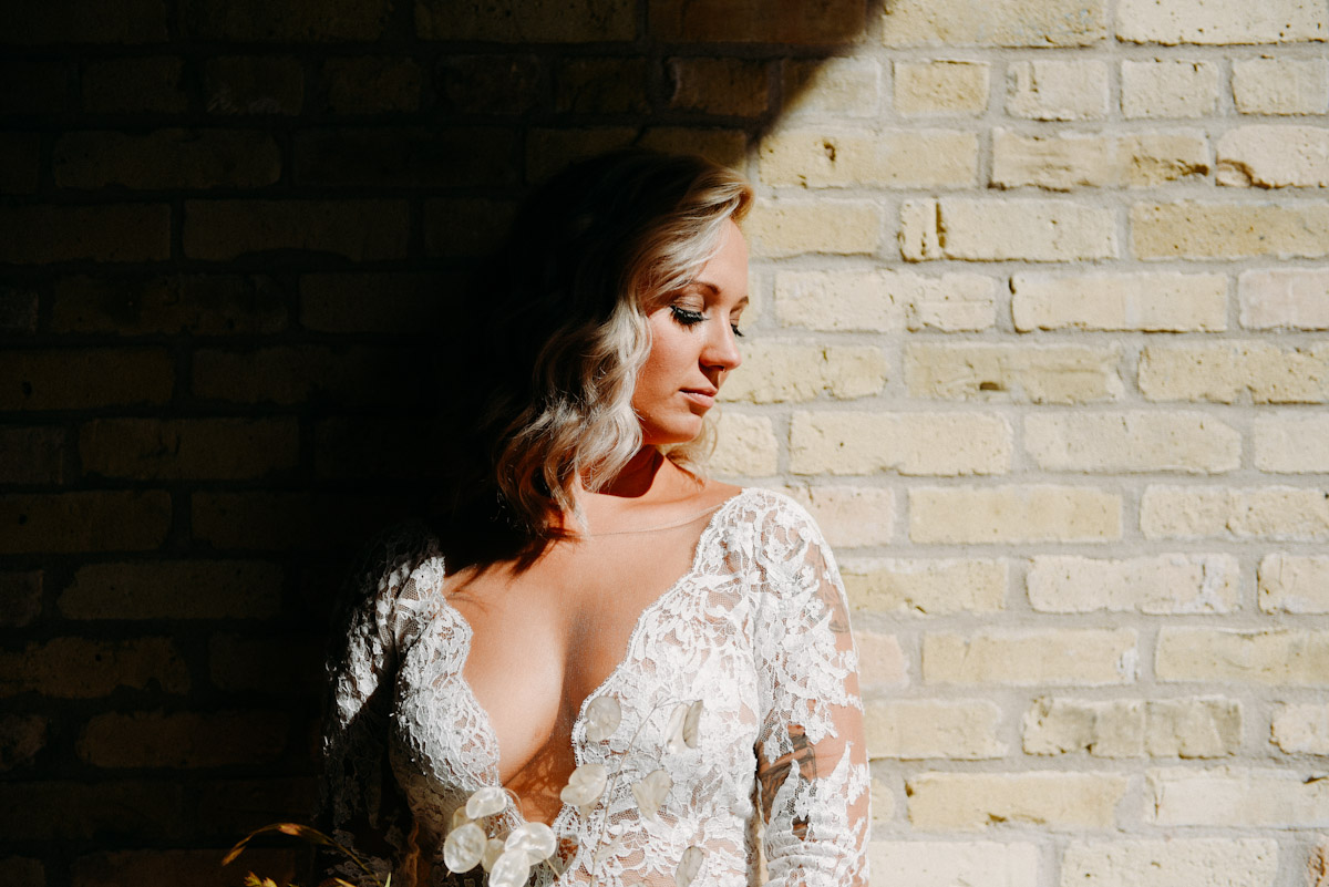 artistic bridal photography in wisconsin