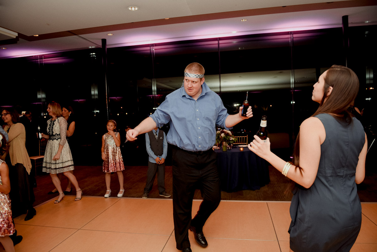 guests beginning to dance