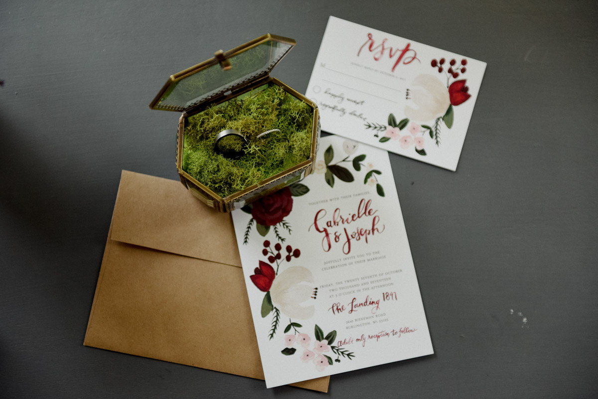 ring and invitations