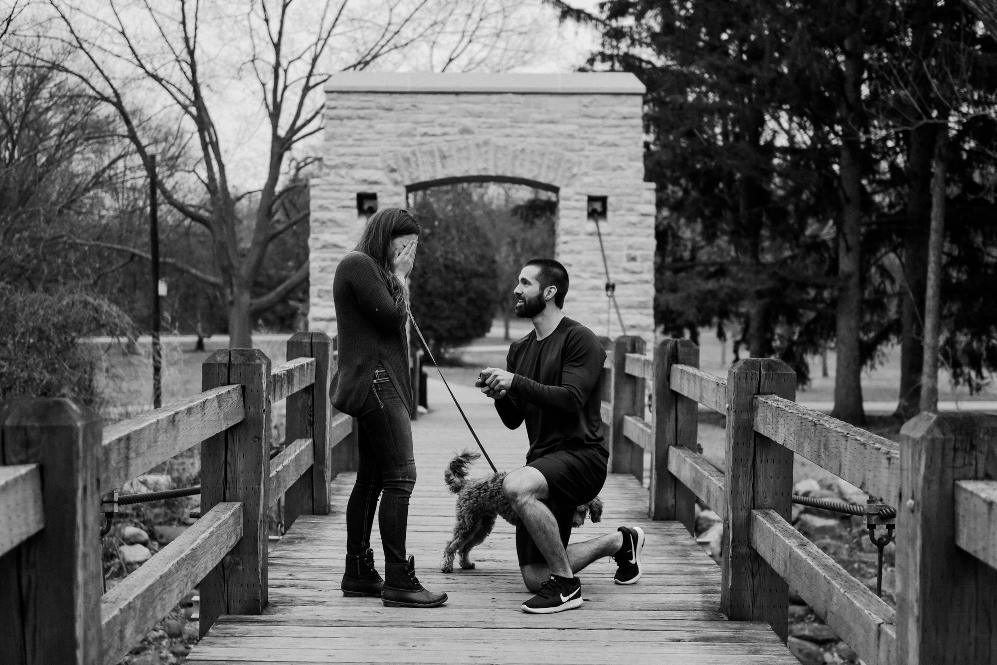 proposal photographer in wisconsin